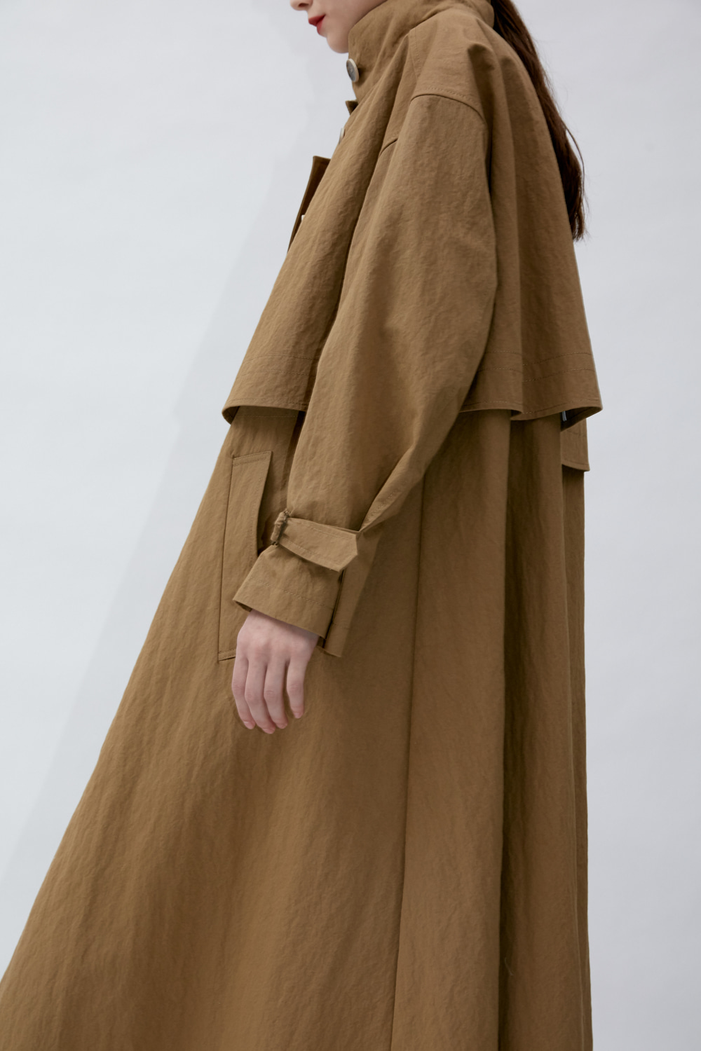 Trench T Asymmetric Beige